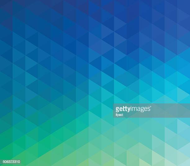 colourful geometric background - triangle shape stock illustrations