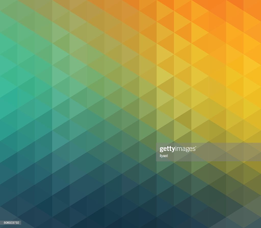 Colourful Geometric Background