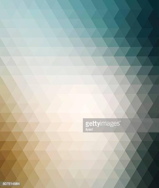 colourful geometric background - beige stock illustrations