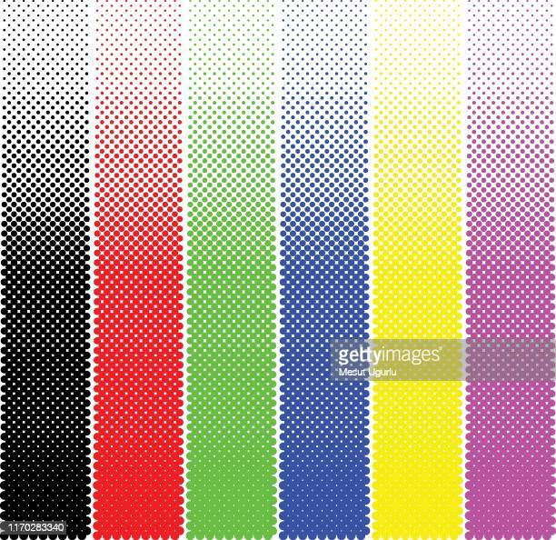 colourful halftone dotted pattern. - pastry lattice stock illustrations, clip art, cartoons, & icons