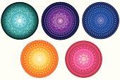 Colourful Mandala Design