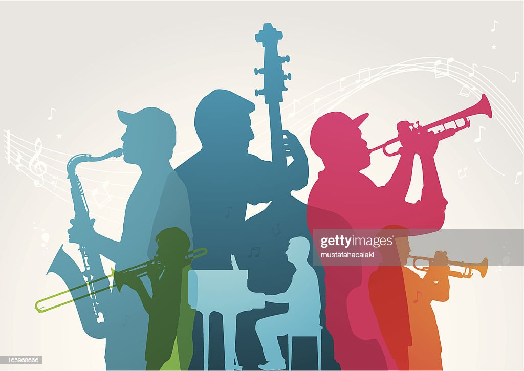 Colourful music band