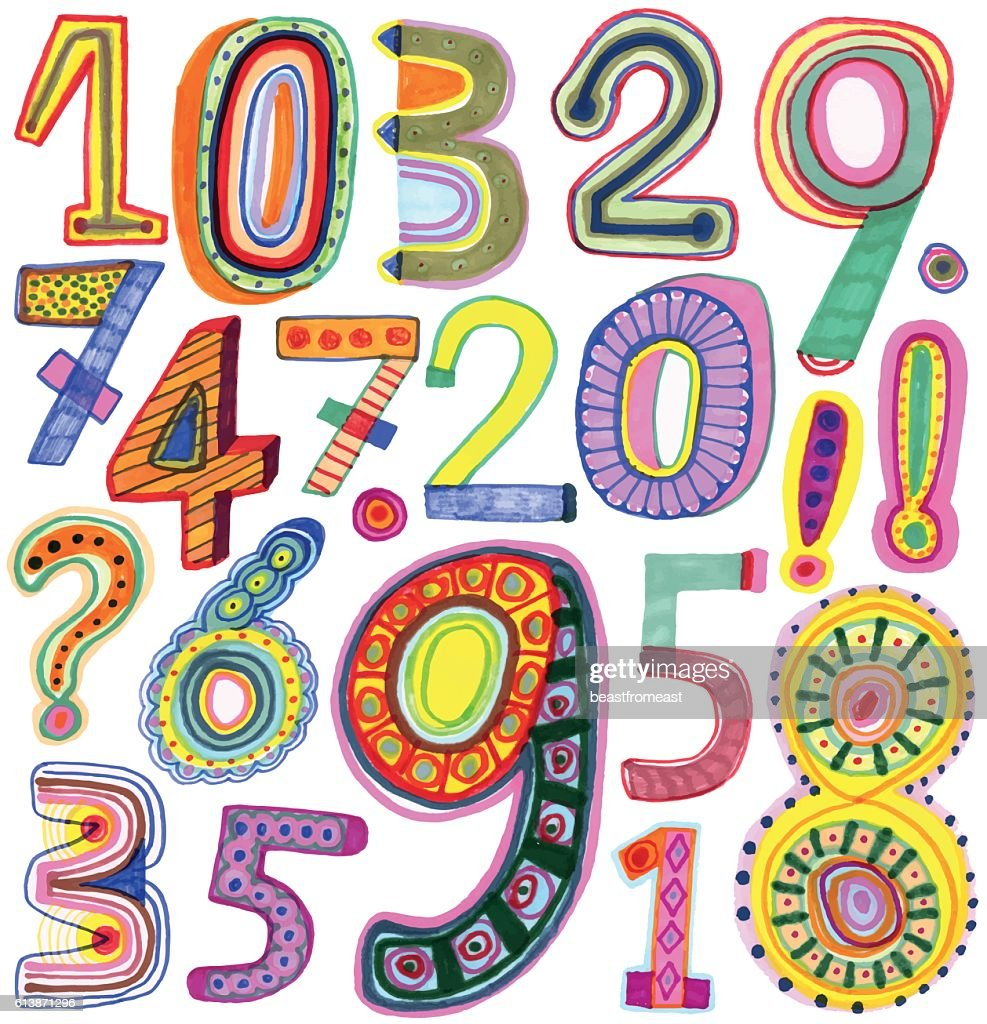 Colourful numbers