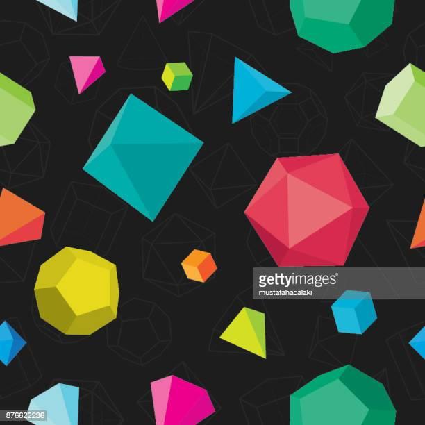 ilustraciones, imágenes clip art, dibujos animados e iconos de stock de patrón transparente de colores sólidos en negro - matematicas