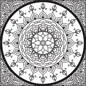 Colouring Mandala