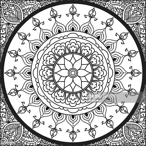 Färben Mandala