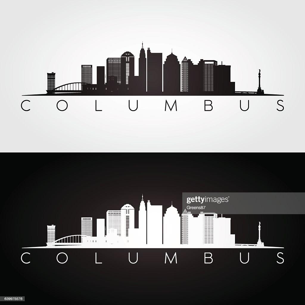 Columbus USA skyline