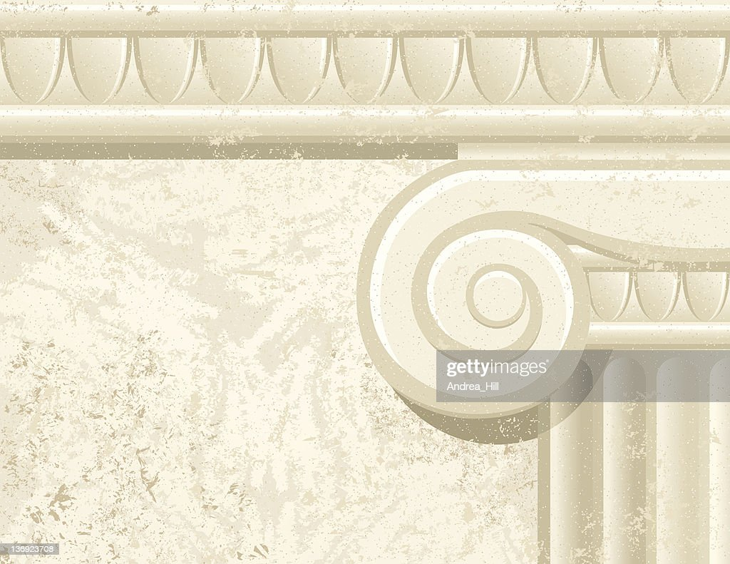 Column Detail with Texture