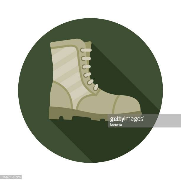 Combat Boots Military Icon