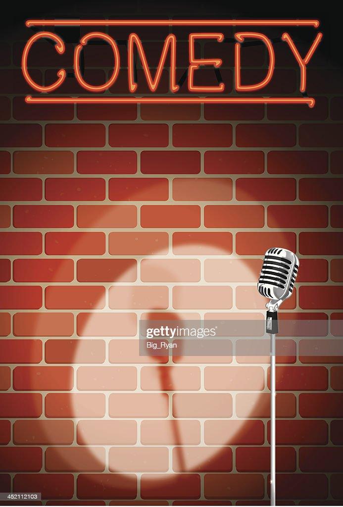 comedy night background
