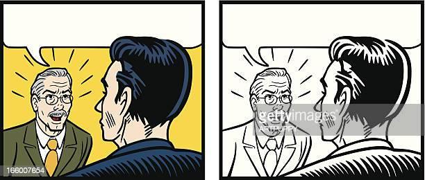 コミック怒りボスで、終始フリッパーズ・ギター時代の従業員