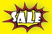 Comic art speech bubble -sale