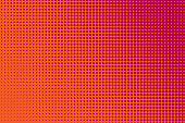 Comic book background with halftone texture.