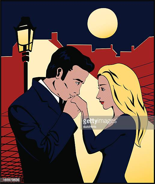 comic book hand kiss - flirting stock illustrations, clip art, cartoons, & icons