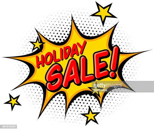 Comic Book Holiday Sale Banner