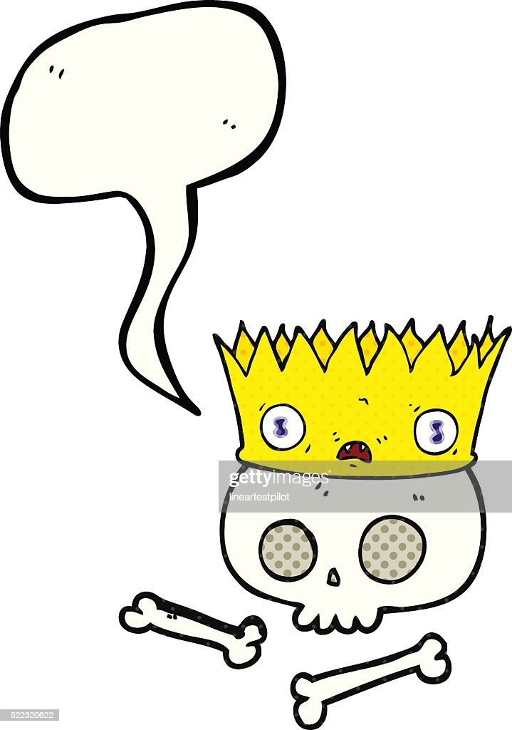 Comic Book Speech Bubble Cartoon Magic Crown On Old Skull High Res Vector Graphic Getty Images Download all 71 crown illustrations unlimited times with a single envato elements subscription. 2