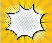 Comic Book Speech Bubble,Pop art Cartoon