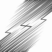 Comic book Speed Lines template