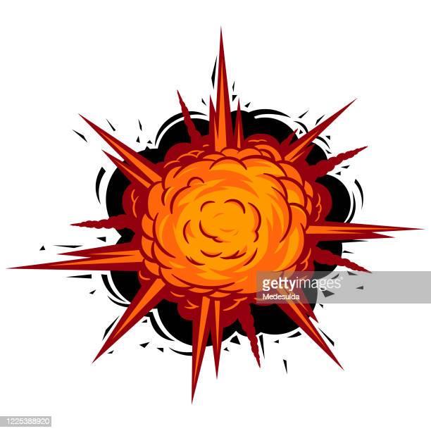 comic book vector - explosive stock illustrations