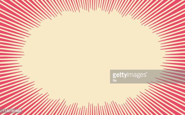 comic explosion lines abstract background - comic book stock illustrations