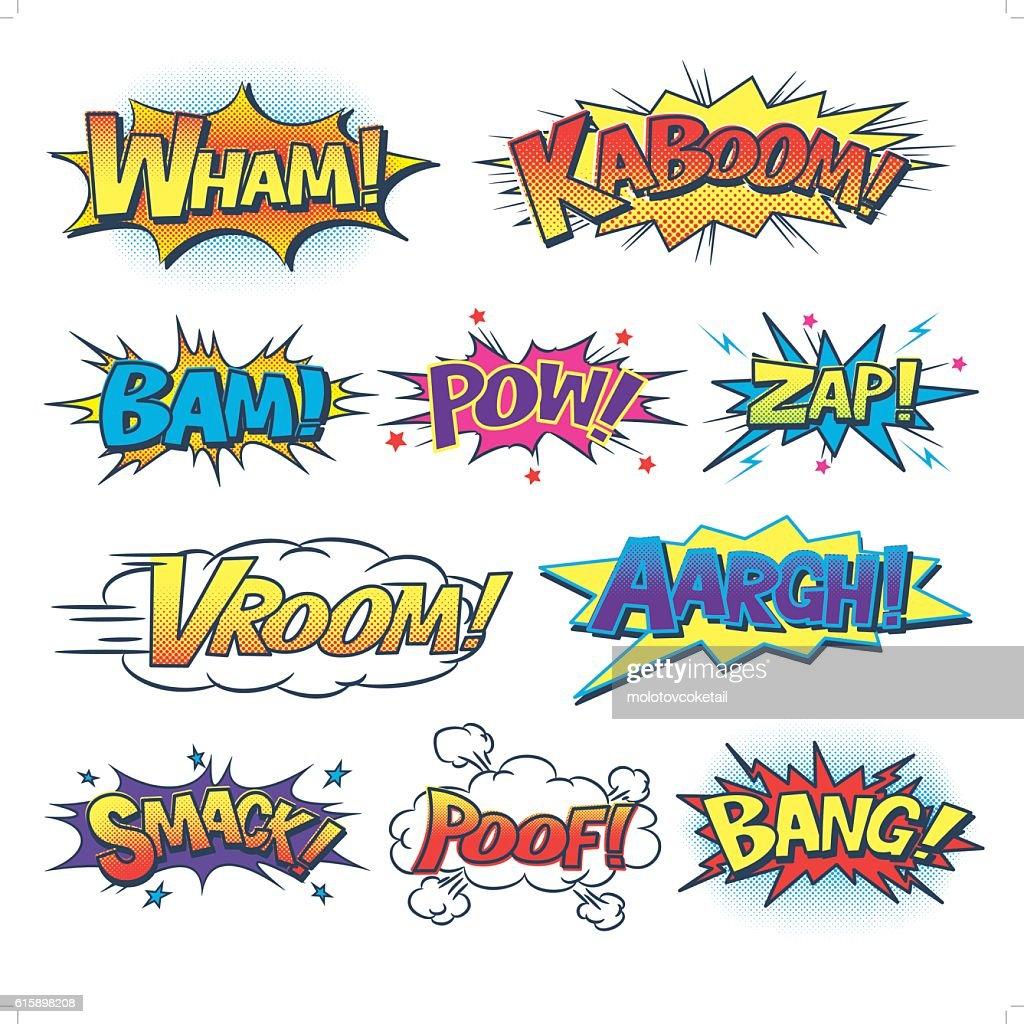 comic sound effect : stock illustration