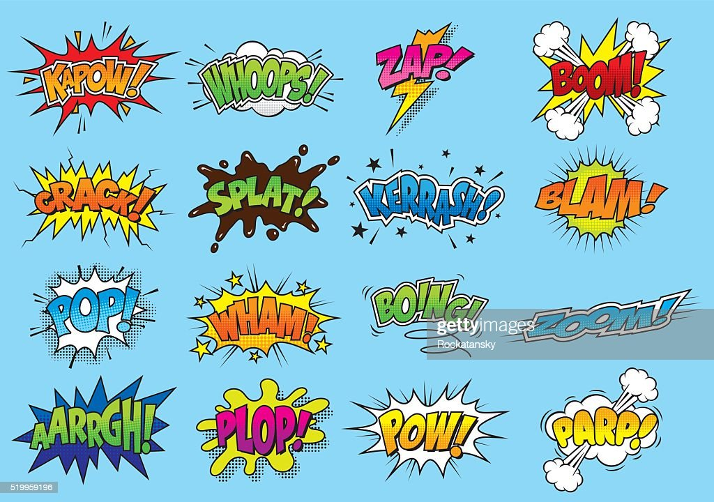 Comic/Cartoon Sound Effects