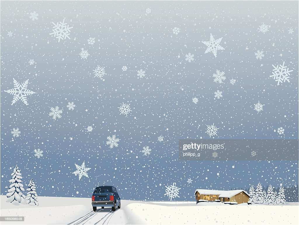 Coming home for the holidays : stock illustration
