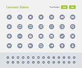 Command Buttons - Granite Icons
