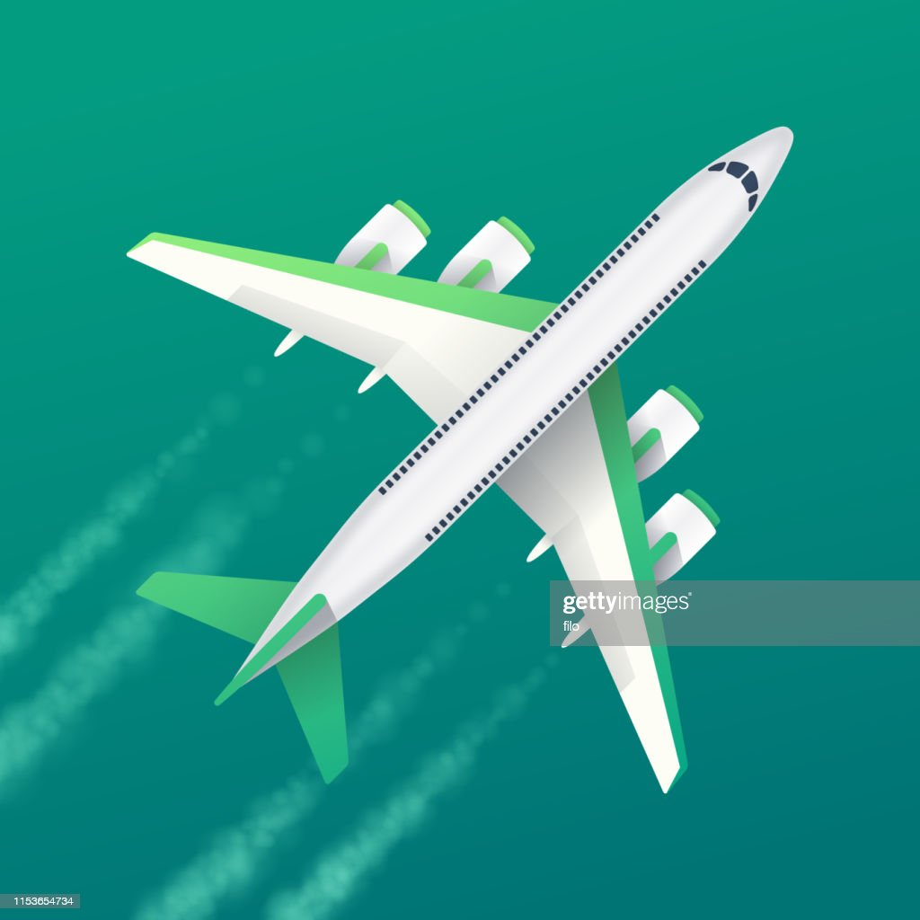 Commercial Air Travel Background : Stock Illustration