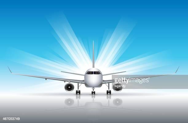 Avião comercial