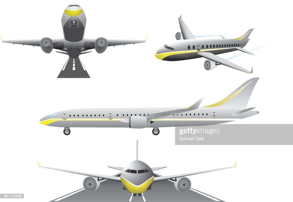 Commercial Jet Airplanes