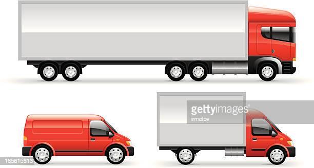 Commercial Trucks Set