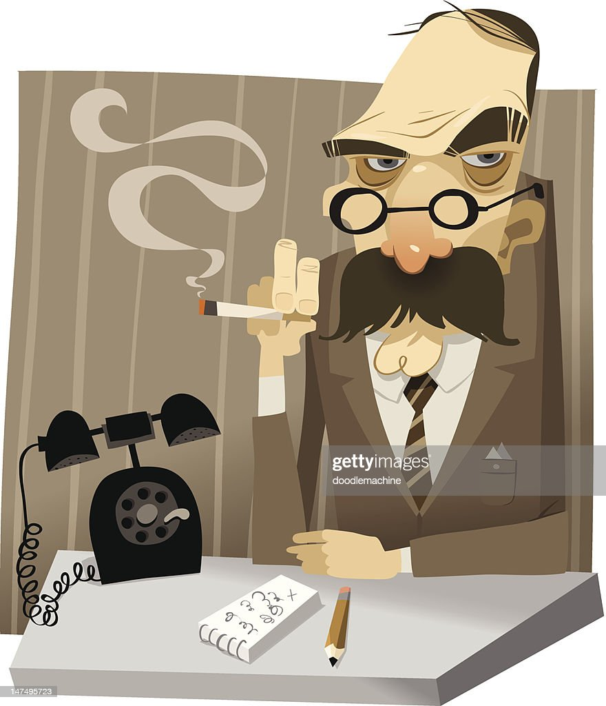 Commissioner : stock illustration