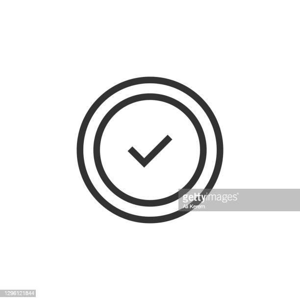 コミットメントラインアイコン - スポーツ チェックする点のイラスト素材/クリップアート素材/マンガ素材/アイコン素材