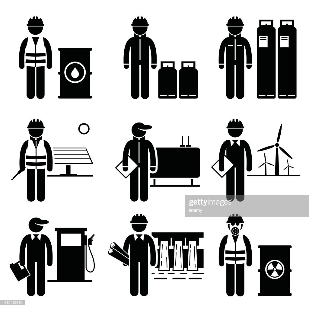 Commodities Energy Fuel Power Icons