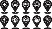 Common Markers Icons on Travellers Map
