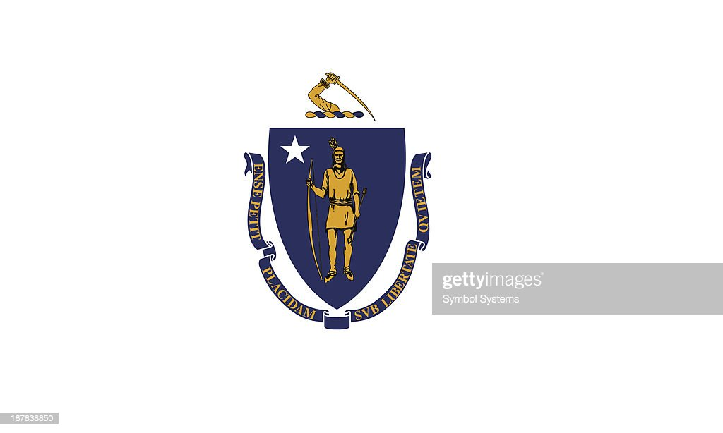 Commonwealth of Massachusetts Flag