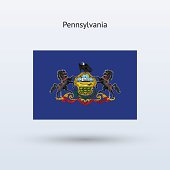 Commonwealth of Pennsylvania Flag