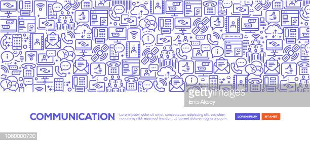 communication banner - answering machine stock illustrations, clip art, cartoons, & icons