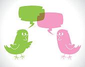 Communication Between Birds