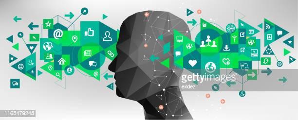communication concept design - condition stock illustrations