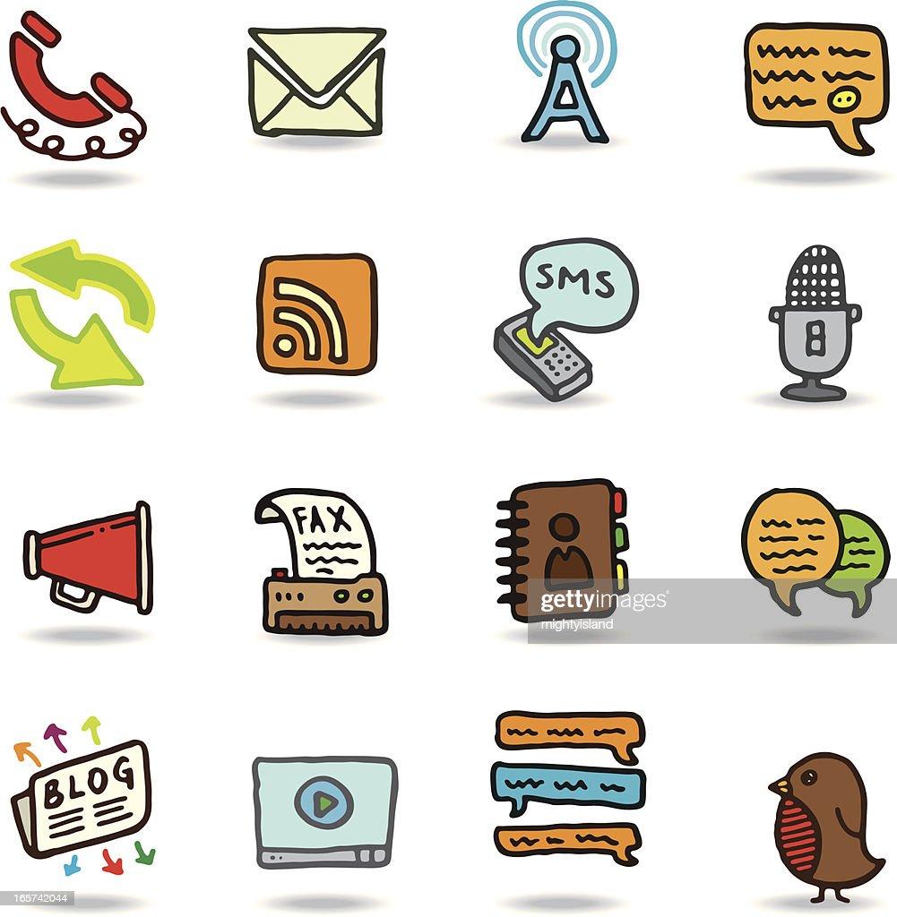 Communication doodles