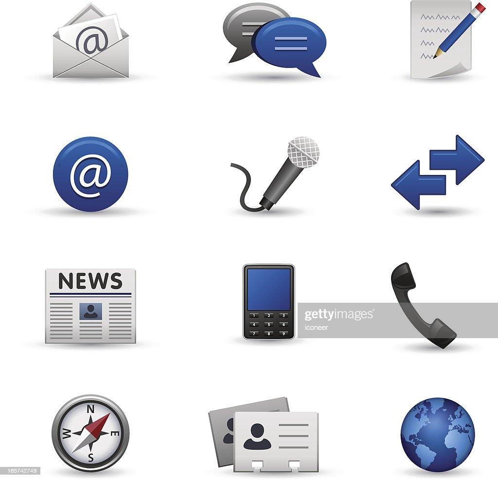 Communication & Homepage Iconset