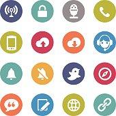 Communication Icon - Circle Series