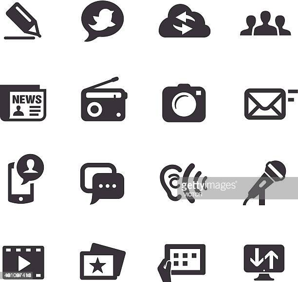 Communication Icon set - Acme Series