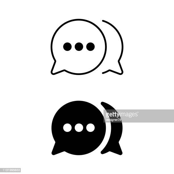 illustrations, cliparts, dessins animés et icônes de icône de communication. - débat