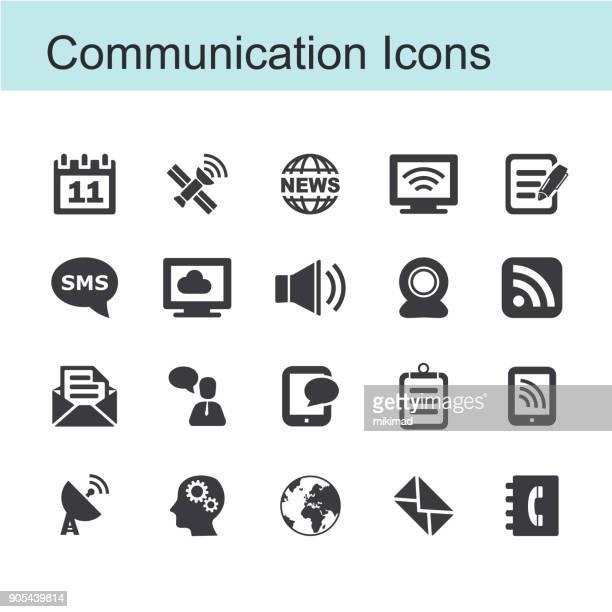 kommunikation symbol - teil einer serie stock-grafiken, -clipart, -cartoons und -symbole