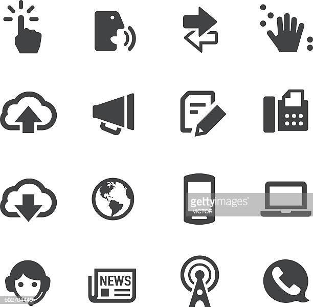 communication icons - acme series - braille stock illustrations, clip art, cartoons, & icons