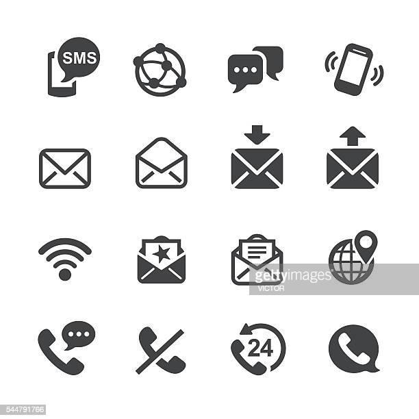 通信アイコン-acme シリーズ - 発送書類入れ点のイラスト素材/クリップアート素材/マンガ素材/アイコン素材