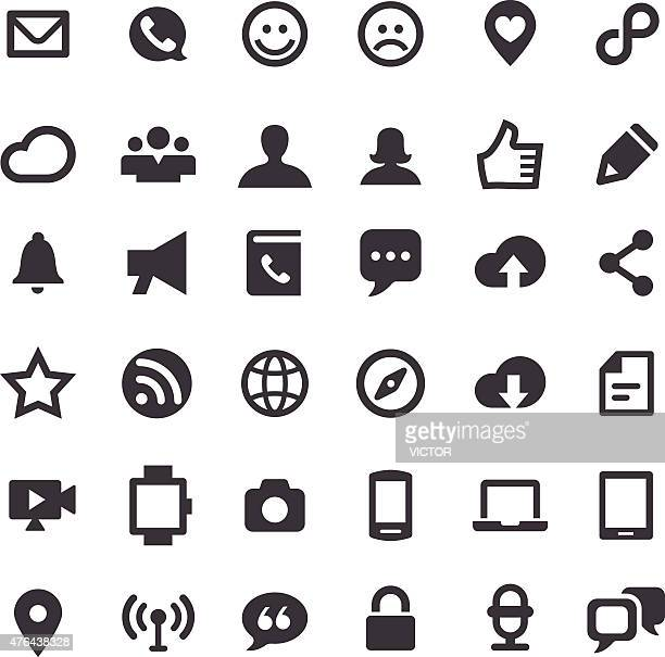 Communication Icons - Big Series